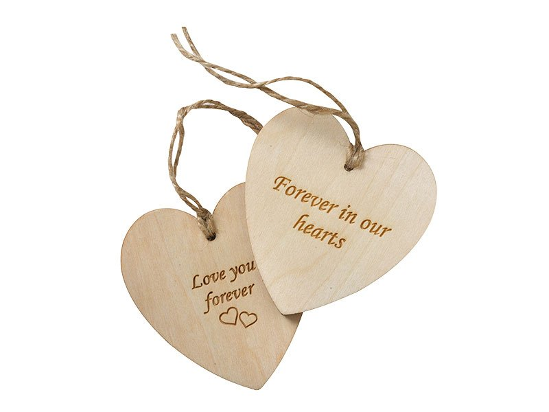 Heart Message Tags